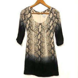 Tracy Reese Silk 3/4 Sleeve Dress